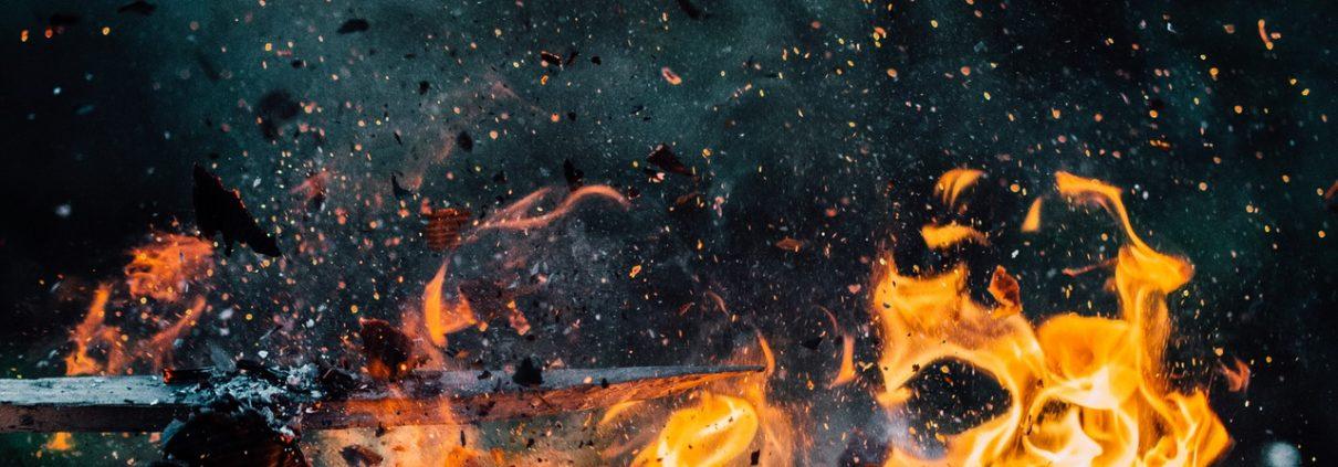 Decontamination post incendie