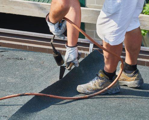 <center>Entretien de l'étanchéité des toitures terrasses</center>